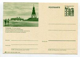 BUNDESREPUBLIK DEUTSCHLAND 1965 Bildpostkarte **, Cuxhaven, Seebad, Schiff (65113) - BRD