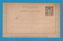 France - Carte-lettre Type Sage N°97-CL4 Neuve - Cartoline-lettere