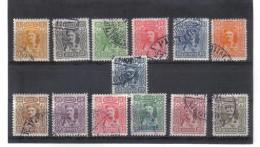 GUT1145 MONTENEGRO 1907 Michl  61/73 Used Gestempelt SIEHE ABBILDUNG - Montenegro
