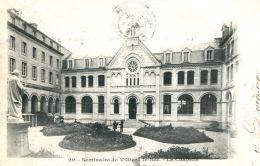 N°402 F -cpa Séminaire De Villiers Le Sec -la Chapelle- - France