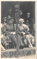 Carte Photo écrite En 1937 Spa Belgique  + Tampon Photo  : X.A. RENSING Courte Rue D'Hérenthals 18-ANVERS - Spa
