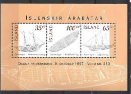 Islande Bloc N° 20 Neuf De 1997 - Blocks & Sheetlets
