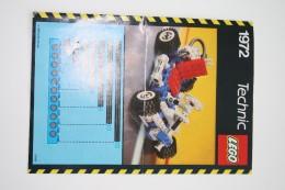 INSTRUCTION MANUAL - LEGO - 1972 - Original Lego 1985 - Vintage - Catalogues