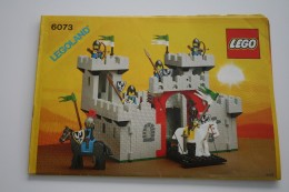 INSTRUCTION MANUAL - LEGO - 6073 - Original Lego 1984 - Vintage - Catalogues