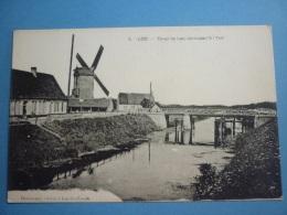 8/161 Belgique Loo Canal De Loo Conduisant à L'Yser éditeur Destrooper Moulin Pont - Lo-Reninge
