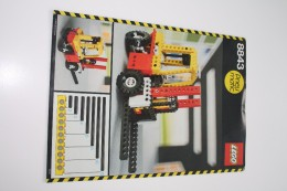INSTRUCTION MANUAL - LEGO - 8843 - Original Lego 1984 - Vintage - Catalogues
