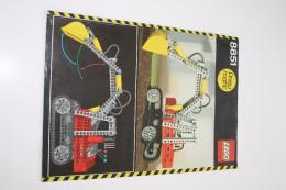 INSTRUCTION MANUAL - LEGO - 8851 - Original Lego 1984 - Vintage - Catalogs