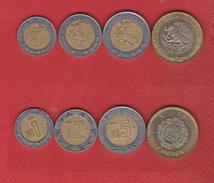Mexique : Lot De 4 Monnaies - Mexico