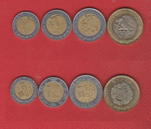 Mexique : Lot De 4 Monnaies - Mexiko