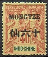 Mongtze 1903  Yvert  11 **  (2 Scans)