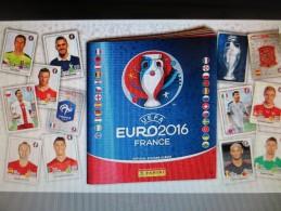 VIGNETTES PANINI EURO 2016 (Liste Jointe) - Französische Ausgabe