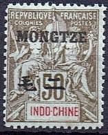 Mongtze 1903  Yvert  13 **/MnH  (2 Scans)  (€  120.00)