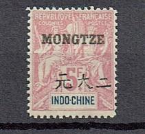 Mongtze 1903  Yvert  16 **/MnH  (2 Scans)  (€  120.00)