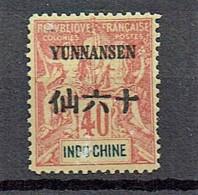 Yunnanfou 1903  Yvert  10 **/MnH  (2 Scans)