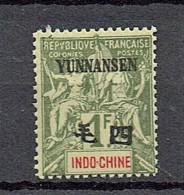 Yunnanfou 1903  Yvert  14 **/MnH  (2 Scans)