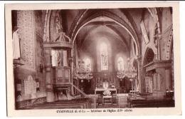 OYSONVILLE: Intérieur De L'Eglise - France