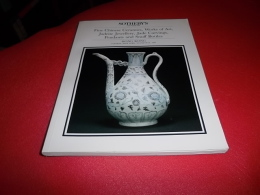 @ FINE CHINESE CERAMICS, JADEITE JEWELLERY JADE CARVINGS, SNUFF BOTTLES 30/04/1991 - Beaux-Arts
