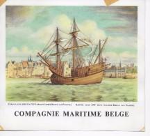 C. M. B. Karveel Begin XVI° Eeuw  ( 20x18cm);illustrator G.Donnet? - Dampfer