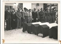 BOURGOIN - Photo Funérailles N°2 Libération Août 1944 - Bertch - Guerre, Militaire