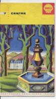 SHELL Centre 1963 1964 - Cartes Routières