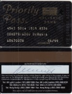 CYPRUS - Priority Pass, Hellenic Bank Privileges Card, Exp.date 06/99, Used - Avions
