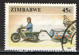 ZIMBABWE - 1990 - MOTO CICLO - USATO - Zimbabwe (1980-...)