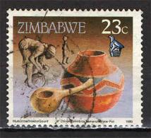ZIMBABWE - 1990 - ARTIGIANATO - USATO - Zimbabwe (1980-...)