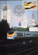 FR. - 2004 - EUROSTAR à Vauxhall ( G.B. ) - Paris Le 04/05.02.2004 - SUPERBE - Trains