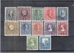 Montenegro - Couronnement Du Roi Nicolas Ier - Yv.88/99 - Série Complète - Obl/gest/used - Montenegro