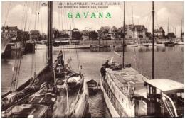 14 DEAUVILLE - Le Nouveau Bassin Des Yachts  (Recto/Verso) - Deauville