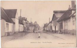 Bresles , Oise. Rue De Noailles. CPA Animée. 2 Scans - France