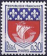 France 1965 - Coat Of Arms Of Paris ( Mi 1497 - YT 1354 B ) MNH** - Frankreich