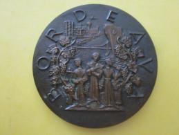 MEDAILLE MONNAIE DE PARIS /BORDEAUX VILLE D ART BRONZE GRAVEUR RAYMOND TSCHUDIN  RARE - Monnaie De Paris