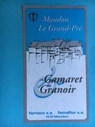 1711 - Suisse Vaud Gamaret Garanoir Moudon Le Grand Pré Pour Entreprise Famaco - Etiquettes