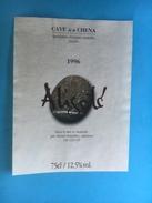 1721 - Suisse Genève Cave Dela Chena Aligoté 1996 - Etiquettes