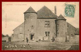 Dept 58 Limanton - Le Chateau D'arcilly   ( Scan Recto Et Verso ) - France