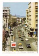 "CHYPRE  /  NICOSIA  /  MAKARIOS  III  AVENUE   (  Automobiles Années 70 + Publicité "" Cigarettes  CRAVEN  A "" ) - Cyprus"