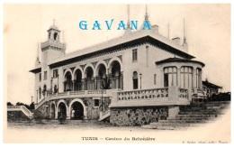 TUNISIE - TUNIS - Casino Du Belvédère  (Recto/Verso) - Tunesië