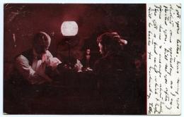 CARD PLAYING : A GAME OF NAP (TUCKS) / POSTMARK - DAILLY (AYRSHIRE) - Ayrshire