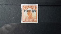 Chine Yunnan Jonques N° 10 MNH BP43 - Yunnan 1927-34