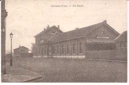 BEVEREN-WAES DE STATIE FELDPOST 1915 STEMPEL ANTWERPEN ! LANDWEHR R6/014 Rare Zeldzaam - Beveren-Waas