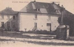 25 ETALANS  Coin Du VILLAGE Animé CROIX  Enfants ECOLE 1915 - Frankrijk