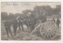 ° 51 ° REIMS ° 1914 _ EN  BATTERIE AU PONT HUON ° - Reims