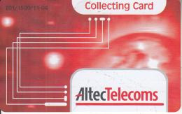GREECE - ALTEC Telecoms Promotion Internet Prepaid Card, Tirage 1500, Sample - Greece