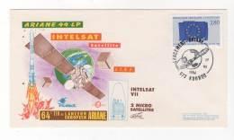 LETTRE / ESPACE - FRANCE - ARIANE 44 LP . V64 - 17/06/1994 - Lettres & Documents