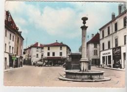 Cpsm 38 La-Tour-du-Pin Place Prunelle - La Tour-du-Pin