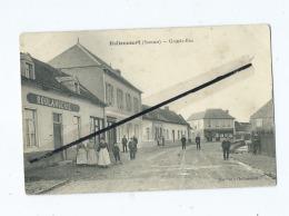 CPA -   Hallencourt  -  Grande Rue   (  Boulangerie  ) - Frankreich