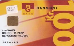 Denmark, DD 231A, Privatplus, 10.200 Issued, 2 Scans. - Danimarca