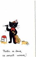 ILLUSTRATEUR    ILL  431  /   BIZ  ED MARCEL VAYSSE /  LES CHATS  / CATS           CPM / CPSM  10 X 15 Neuve - Autres Illustrateurs