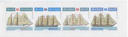 Carnet C26** (2608-2611) Voiliers Divers. - Ships